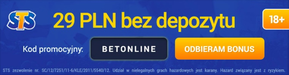sts promocja bonus kod promocyjny